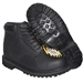 IRON MAN Black Steel Toe Work Boot Rugged Outdoor Shoes
