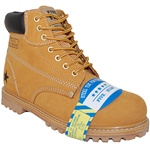 Steel Toe Leather Rugged Outdoor Boot