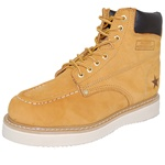 MOC Tan Work Boot Rugged Outdoor Shoes