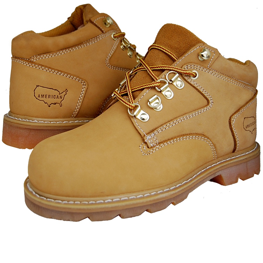 Premium Leather Ankle Work Boot
