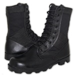 COMBAT Tactical Leather | Canvas Upper Jungle Boot by AMERICAN