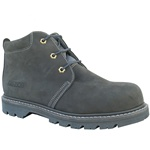 "AMERICAN X RUGGED GREY LEATHER 5"" MEN'S CHUKKA"