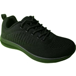 Republic Shoes | Women Lace Up Sneakers in Breathable Knit Uppers
