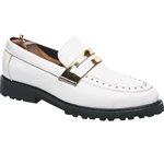 KRAZY SHOE ARTISTS WHITE CUSTOM DESIGN MEN'S SHOES