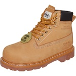 "6""Leather Steel Toe Work Boot for Women"