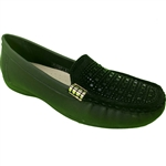 Republic Shoes | Women's Casual Slip On Loafer with Studs Decor