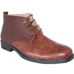 ART OF SHOES MEN'S FASHION DRESS BOOT IN DARK BROWN