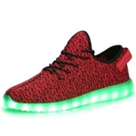 Outsoles with Lights - Men Women Unisex Lightweight Fashion Sneakers Breathable Athletic Sports Shoes
